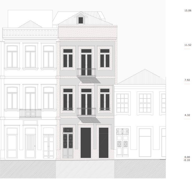 Reabilitação de edifício na rua do Rosário - Porto