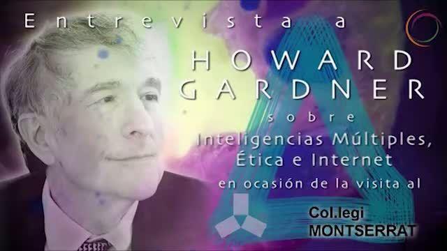 Think1.tv Entrevista breu a Howard Gardner arrel de la seva visita a l'escola Montserrat. Maig 2013