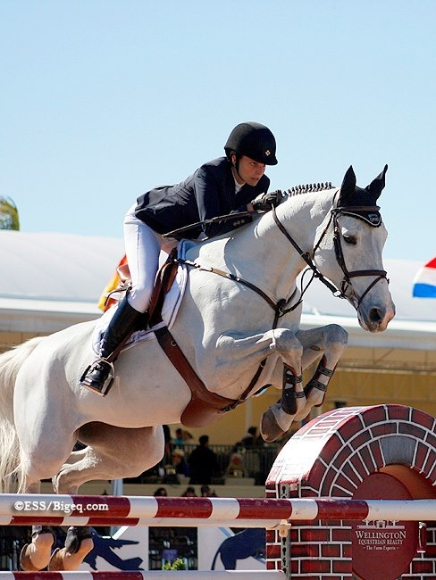 Camille Z and Athina Onassis de Miranda — at WEF (FTI Consulting Winter Equestrian Festival).