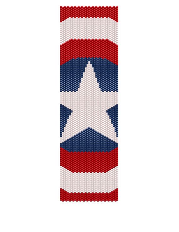 17 best images about bead patriotic on pinterest beaded for Patriotic beaded jewelry patterns