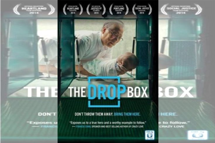 Documentary film review of The Drop Box - saving abandoned babies in South Korea - Food Shelf Friday #FSF