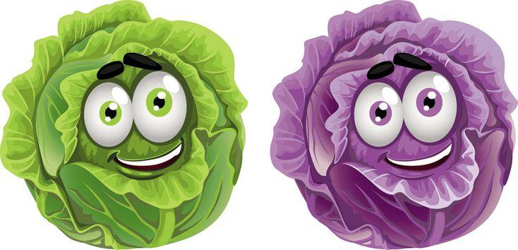 cartoon fruit and vegetable images | Vegetable cartoon image vector-3 | Download Free Vectors