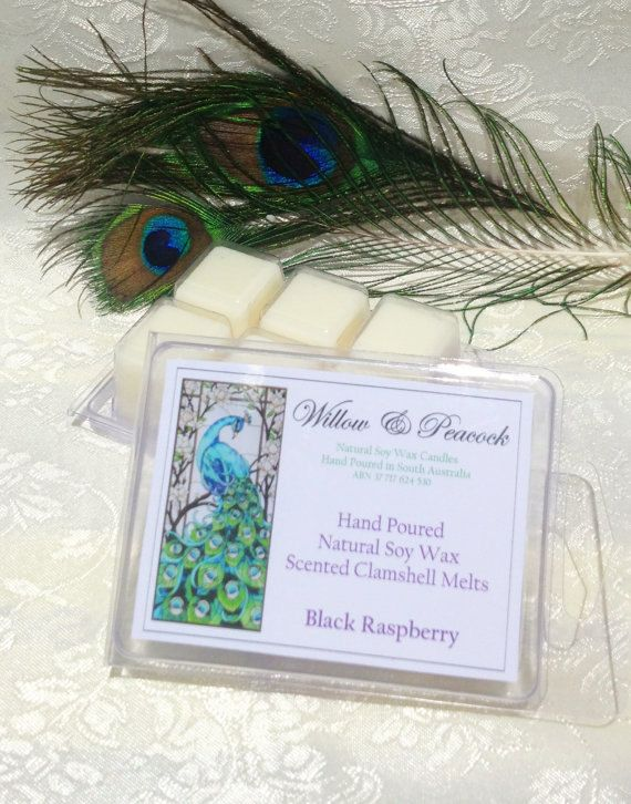 Choice of fragrance Hand Poured Natural Soy by WillowandPeacock, $6.00