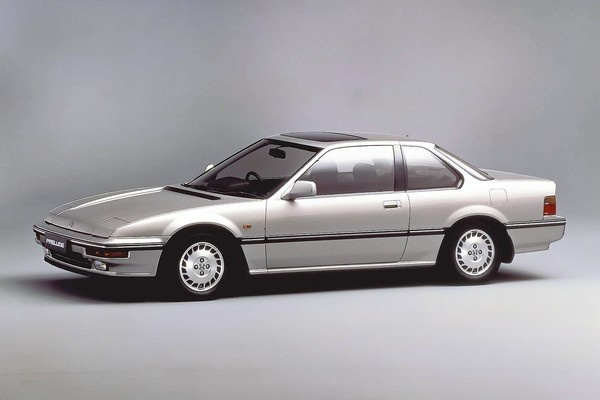 1988 Honda Prelude. (Photo courtesy Larry Printz, The Virginian-Pilot)
