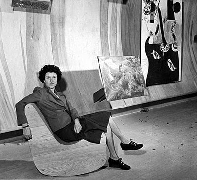 Peggy Guggenheim, one of the most important art promoters of last century and a great philanthropist.