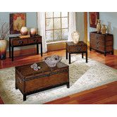 Found it at Wayfair - Voyage Trunk Coffee Table Set