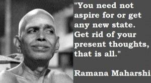 Ramana Maharshi Quotes