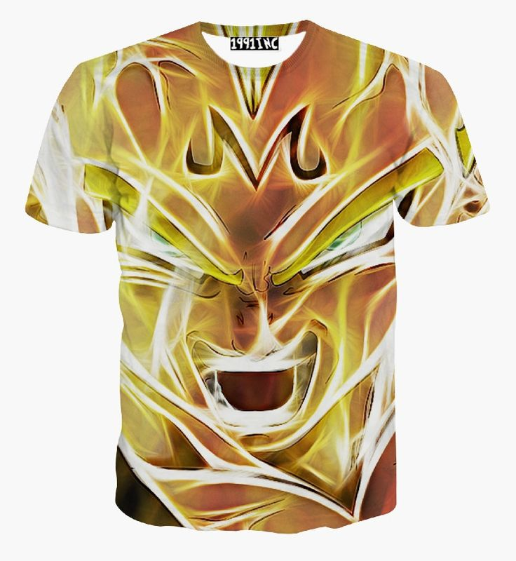 Harajuku classic cartoon dragon ball super saiyan armour t shirt men/women  summer tshirt tops casual tee shirts