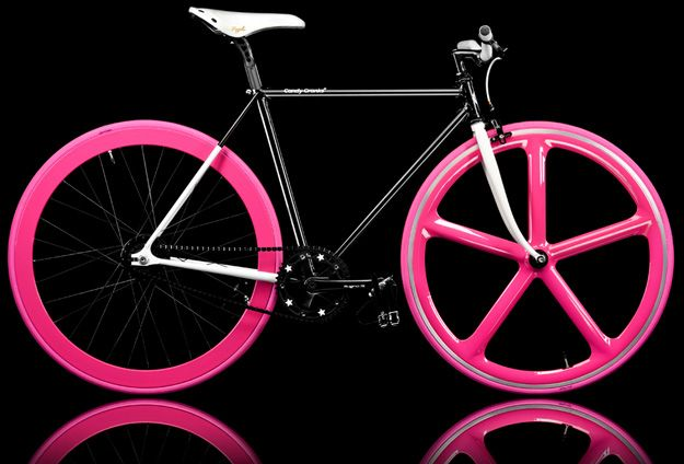I love this bike pink is my favorite  color