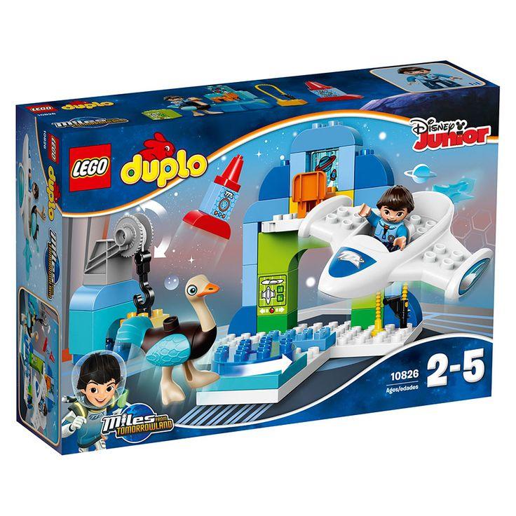 LEGO DUPLO Miles' Stellosphere Hangar 10826   Toys R Us Australia