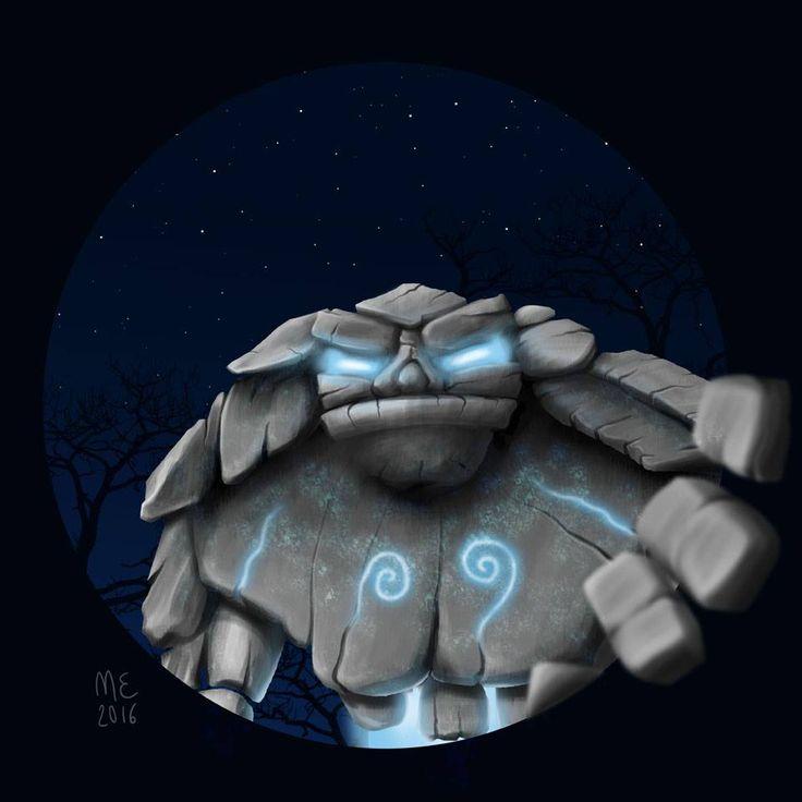 Micaela Esposito - Golem illustration - Massoneria Creativa - www.massoneriacreativa.com