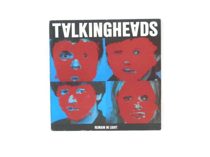 1980 Talking Heads Studio Album Remain in Light LP #talkinghead