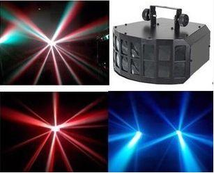 High power LED double butterfly lights KTV bar Dance Laser Stage Light Laser Light #Affiliate