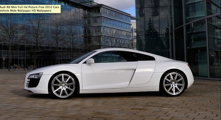 Audi R8 All White Beautiful More Than