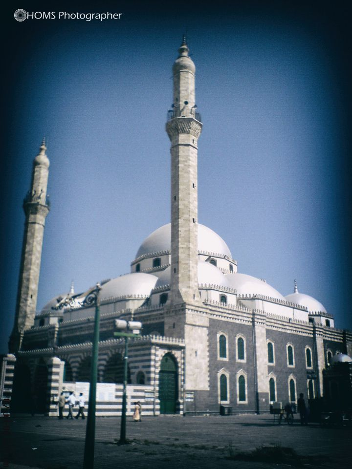 Khaled Ibn Alwaleed Mosque-Homs City Before Assad bombs