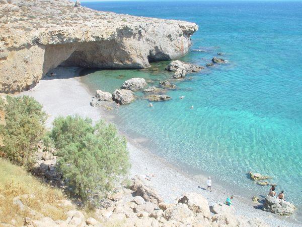 Makrigialos in south-east Crete