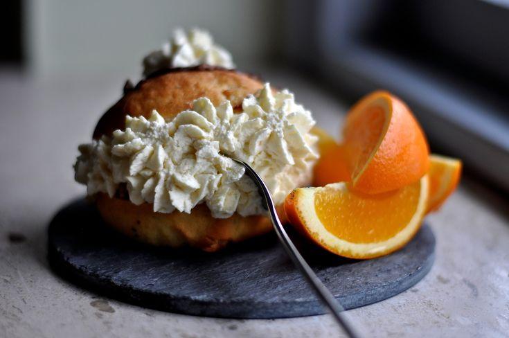 Unika fastelavnsboller m. appelsin og chokolade | |
