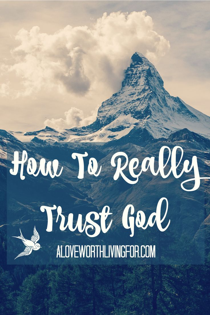 Just trust God! We hear people say things like this all of the time, but what does that even mean? How can we know how to trust God or even know that He is worthy of trust? Here is how you can learn to trust a God that is trustworthy!