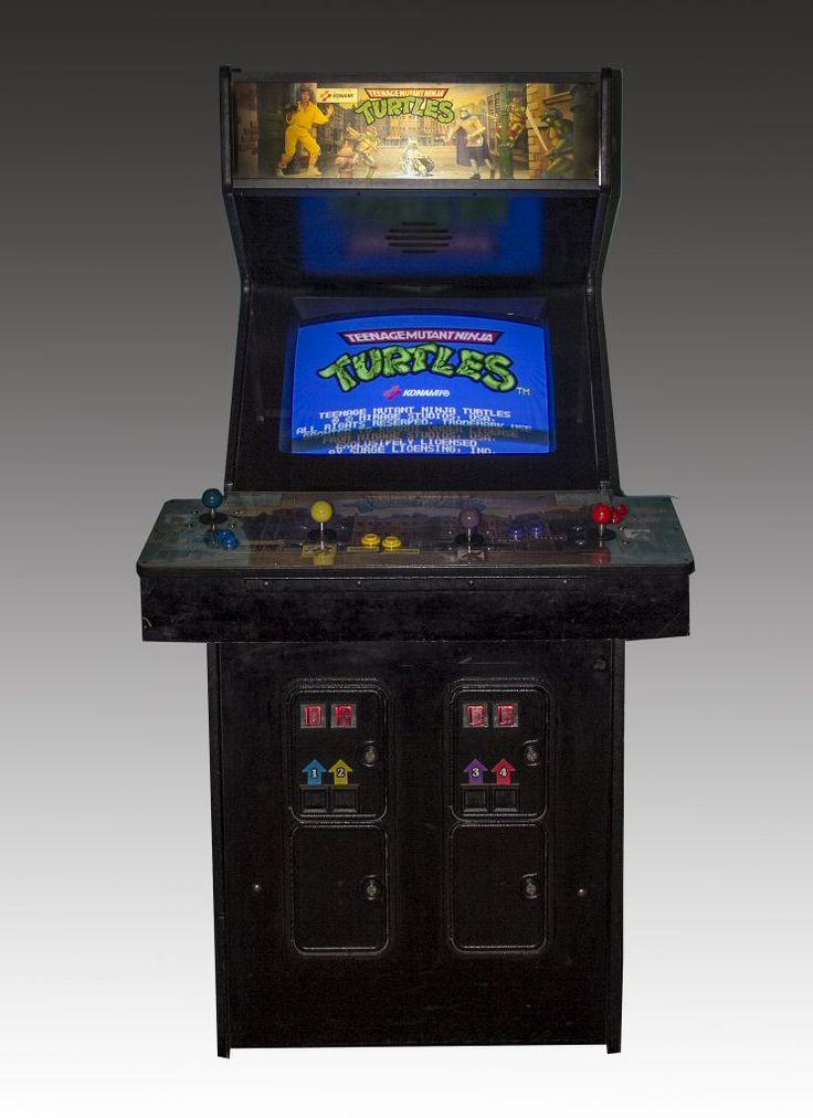 113.3648: Teenage Mutant Ninja Turtles arcade game | arcade game | Arcade Games | Video Games | Online Collections | The Strong