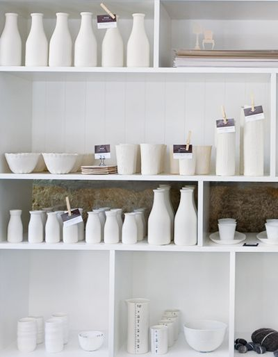 Donna Hay store.: White Magic, Dreams Kitchens, Life Style, Classic White, Ceramics Milk Bottle, Donna Hay, Elegant Collection, Hay Stores, Kitchens Organizations