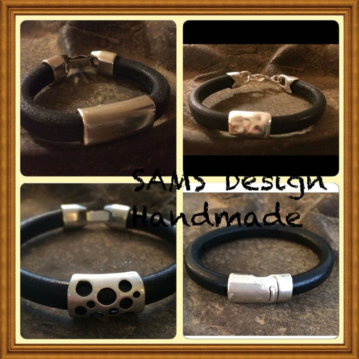 Läderarmband SAMS Design Handmade Leatherbracelets