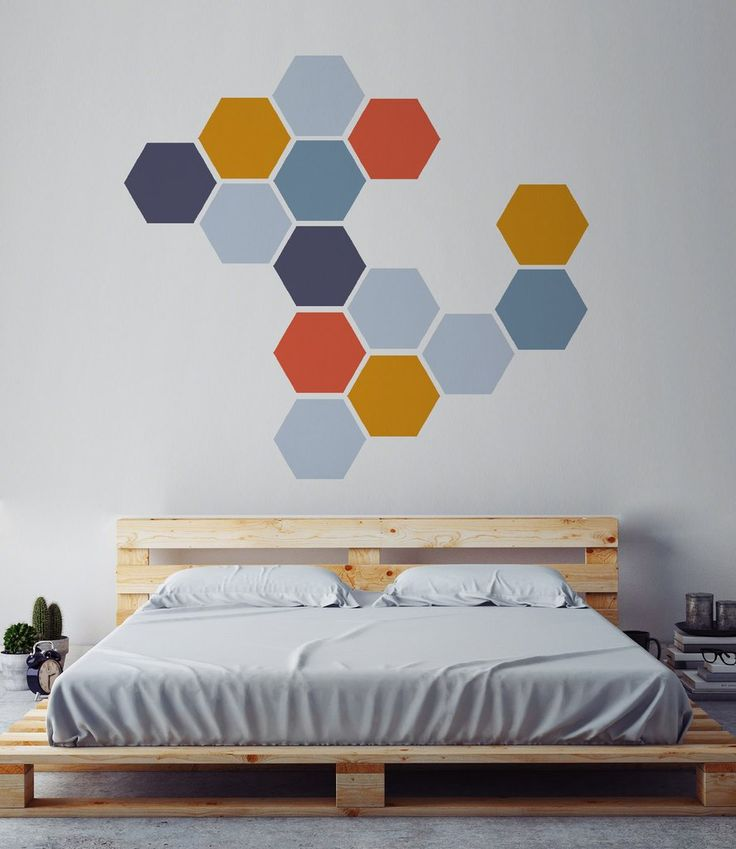 Best Honeycomb Wall Decals Images On Pinterest Honeycombs - Wall decals on canvas