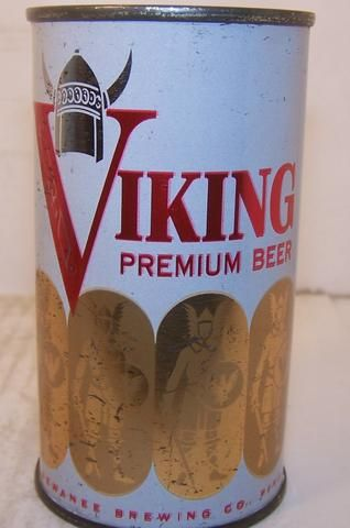 Viking Premium Beer, (Metallic) USBC 143-31, Grade 1/1- – Beer Cans Plus