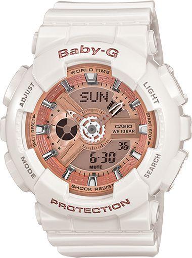 BA110-7A1 - Baby-G White - Womens Watches | Casio - Baby-G