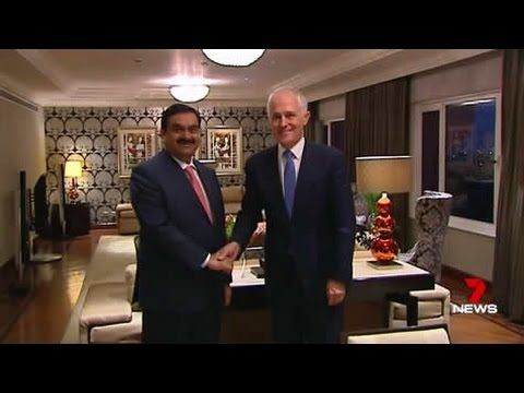 Australians sold-out by their own PM: Treasonous Turnbull's $1 billion NON-trade deal in India.