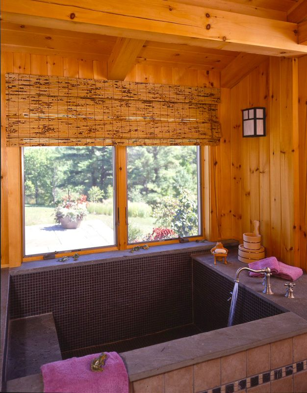 Post and beam living 10 handpicked ideas to discover in for How big is a bathtub