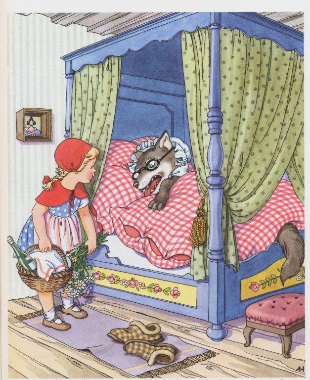 Little Red Riding Hood - Anny Hofmann