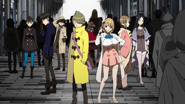Occultic Nine Anime Characters Wallpaper