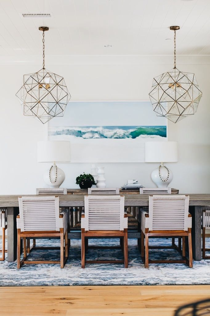 Pin By Whitney Persson On Dream House Coastal Dining Room