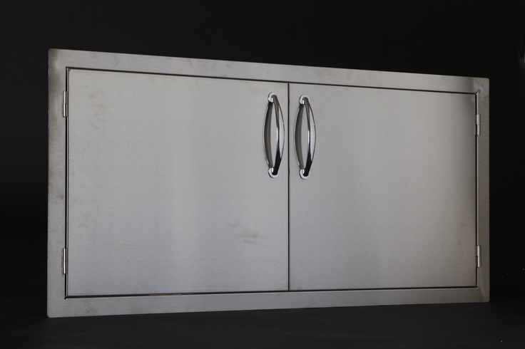 Large double doors, on an easy to install frame.  BKDL