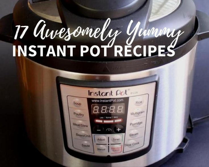 "Looking for delicious instant pot (or pressure cooker) recipes? Here are 16 easy recipes you need to try asap! Click Here for Recipe: Amy's Chicken Nachos (Electronic Pressure Cooker) ""I..."