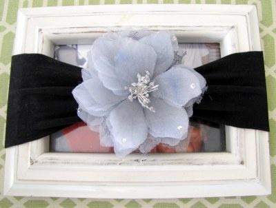 >Nylon Baby Headband with Flower Clip TUTORIAL « littlemissmomma