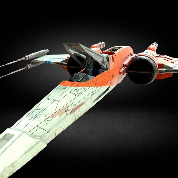 Star Wars The Vintage Collection Poe Dameron S X Wing Fighter Toy Vehicle In 2020 X Wing Fighter Star Wars Vehicles Classic Star Wars