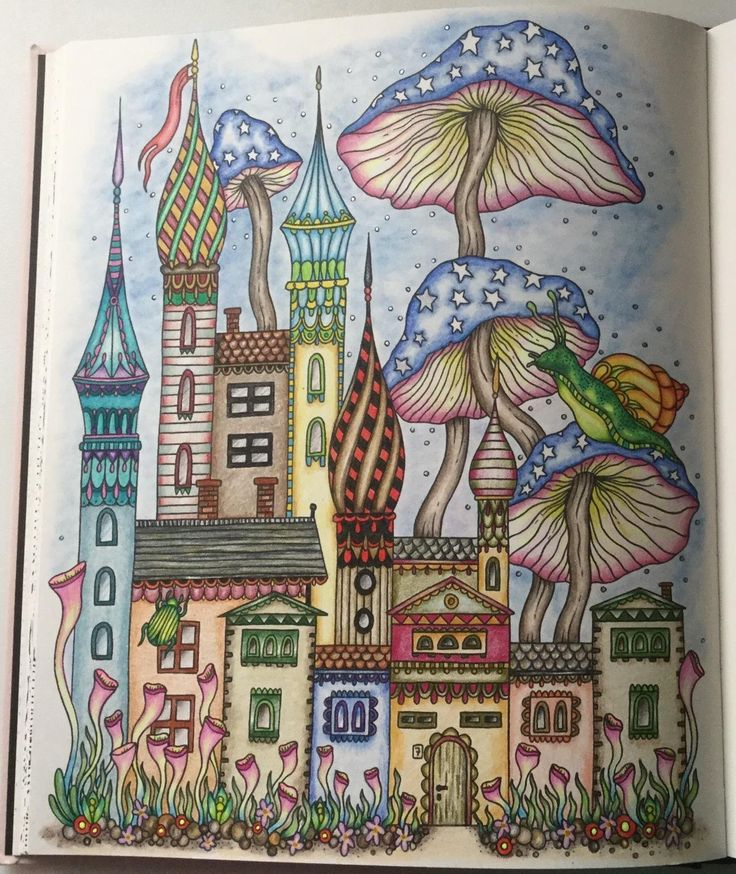 Summer Nights Coloring Book Originally Published In Sweden As Sommarnatt Daydream HannaColored Pencil