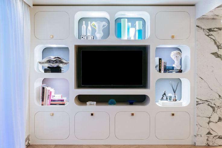 #Carosello tv stand, design by Valentina Fontana for #altreforme, #novecento collection, #interior #home #decor #homedecor #furniture #aluminium #woweffect #madeinItaly