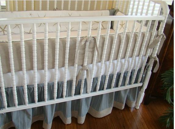 Starfish Crib Bedding Perfect For A, Beach Baby Crib Bedding