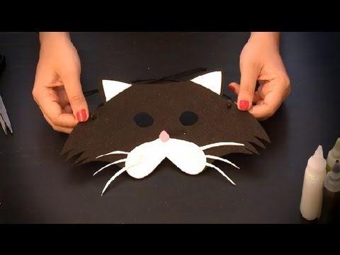 Cómo hacer un antifaz de gato : Antifaces de animales para niños
