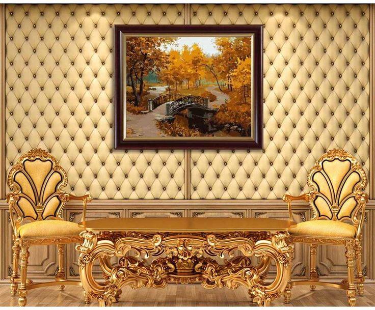 Картина по номерам «Золотая осень»   Картины, Раскраска по ...