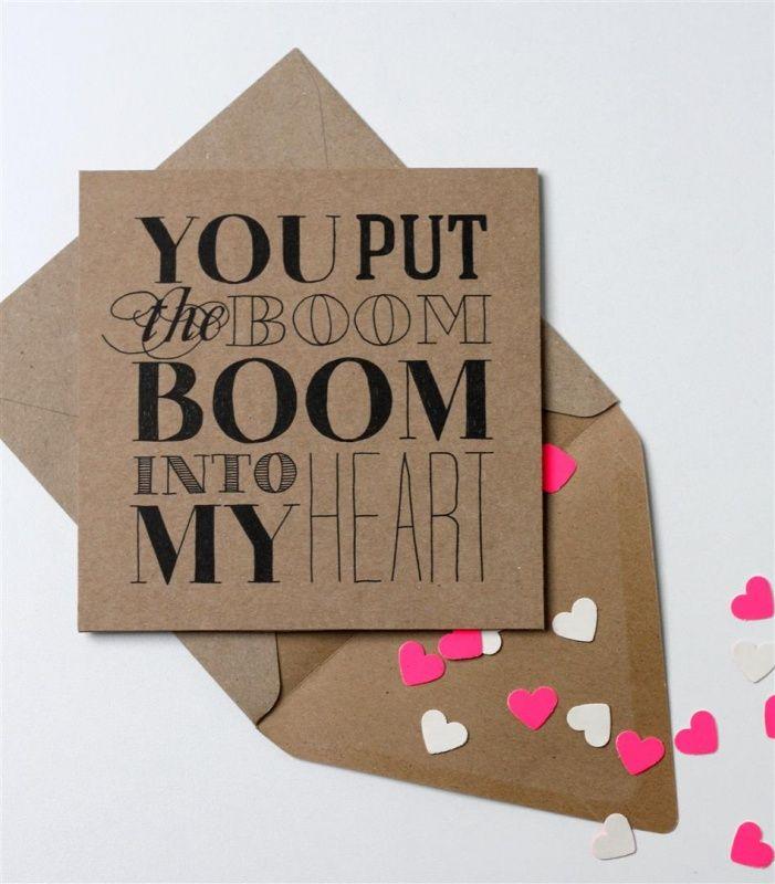 Kaart Boom into my Heart | Oh So Pretty Party | Dreamkey Design