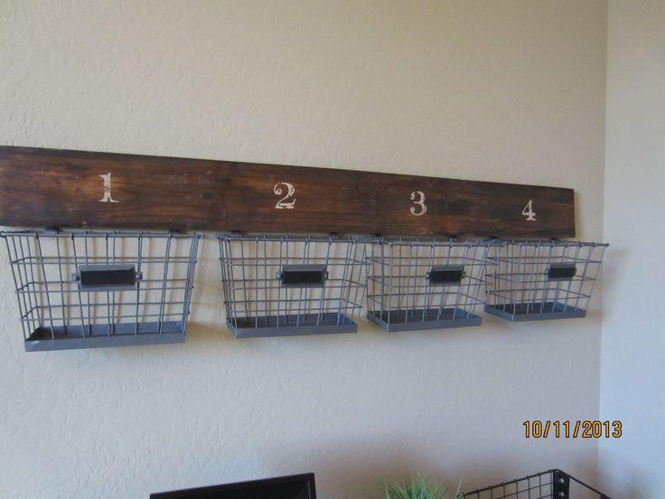 Teenage boy bedroom Storage Idea