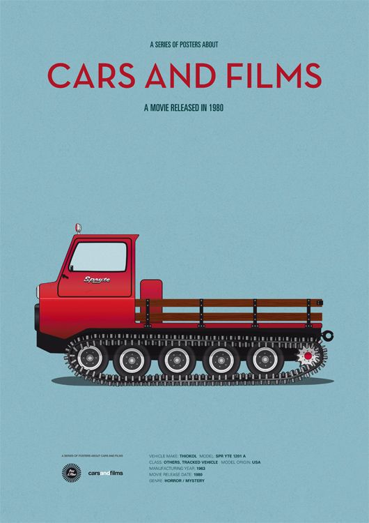 The Shining inspired poster by Jesús Prudencio. Cars And Films