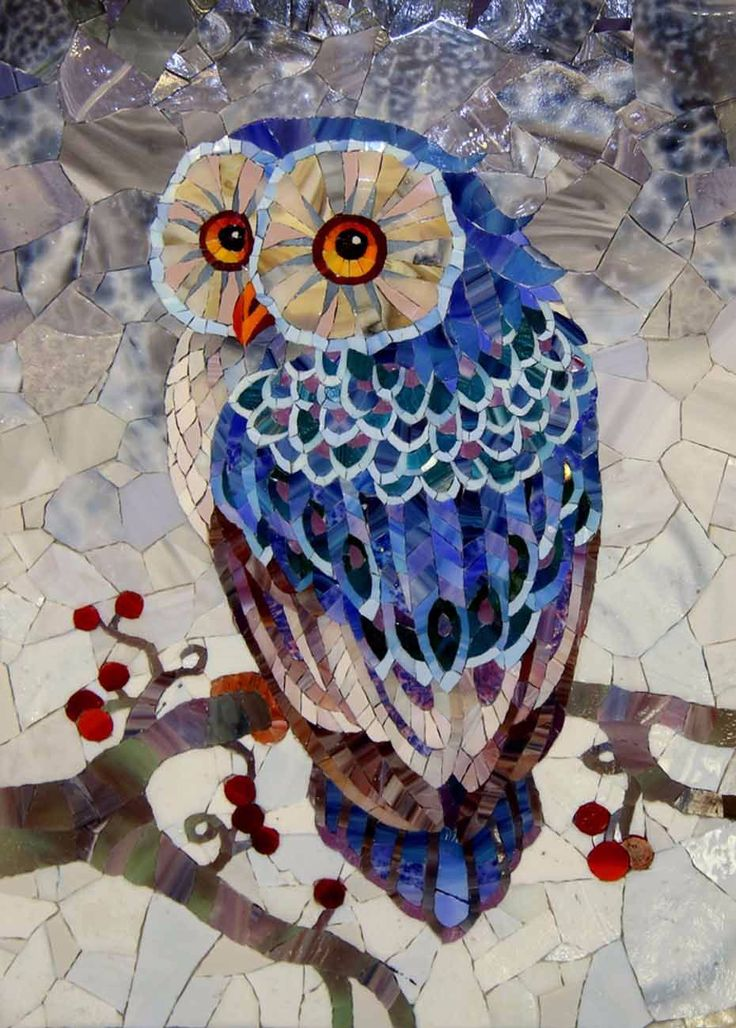 Mosaic Design Ideas find this pin and more on mosaics 5 Owl Mosaicmosaic Birdsmosaic Artmosaic Designsmosaic Ideasmosaic