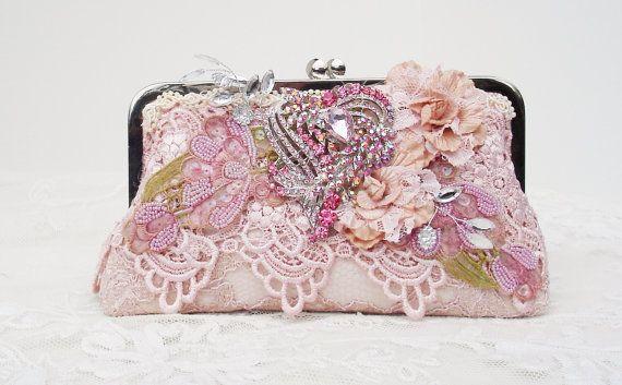 Marie Antoinette / French Vintage / Pink by PetiteVintageBags, $120.00
