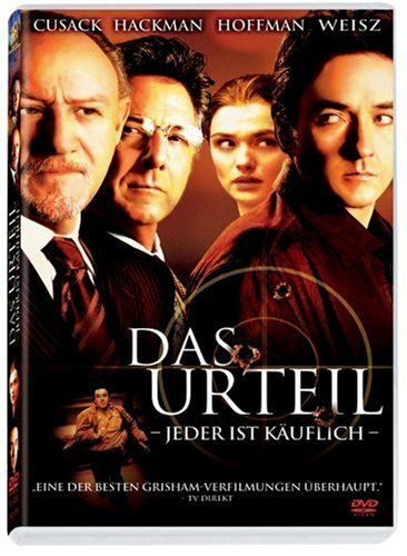 Das Urteil * IMDb Rating: 7,0 (56.760) * 2003 USA * Darsteller: John Cusack, Gene Hackman, Dustin Hoffman,
