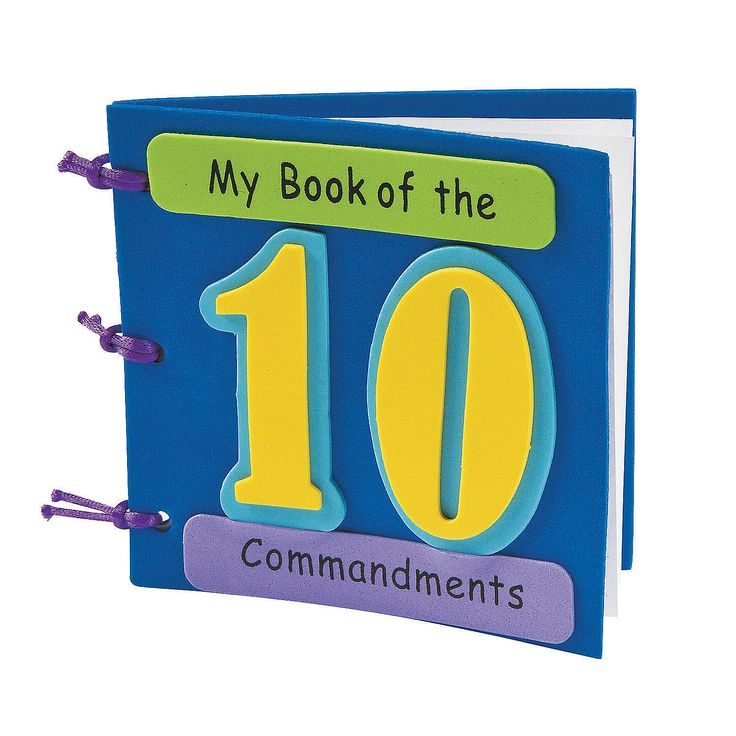 17 Best ideas about 10 Commandments Kids on Pinterest ...