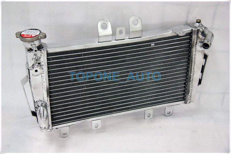 ALUMINUM RACING RADIATOR FOR TRIUMPH TIGER 1050 2007